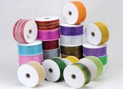 mesh ribbon wholesale mesh ribbon wholesale metallic deco mesh ribbons bbcrafts