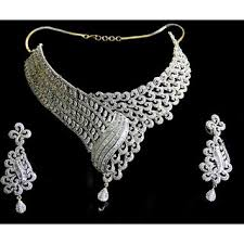white necklace sets images Buy white stone necklace set online get 0 off jpg
