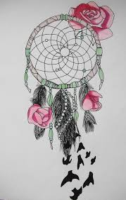 dream catcher drawing pencil easy a level art water colour pencil