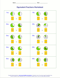 adding fractions answer key free equivalent fractions worksheets with visual models