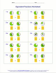 printable fraction worksheets for grade 4 free equivalent fractions worksheets with visual models