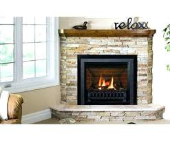 Electric Fireplace With Mantel Electric Fireplace With Mantel And Multicolor Stone Facade Full