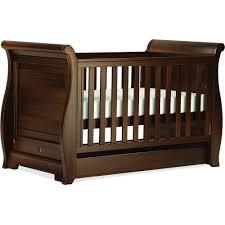 Boori Sleigh Cot Bed Boori Sleigh Regency Cotbed Boori Nursery Furniture At W H Watts