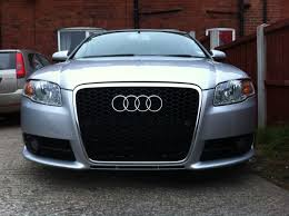 audi a4 b8 grill upgrade how to fit an rs6 grille on a b7 a4 s4 or rs4 all mesh no