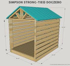 house plan diy doghouse gazebo dog house ideas plans picture