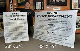 objectives of mission statement ethics mission statements core values vision statements mission statement irvine police