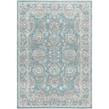 lark manor velay blue area rug u0026 reviews wayfair