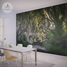 Storehouse Home Decor Forest Home Decor Cool Wall Long Pathway In An Arch Tree Covered