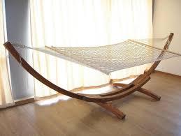 indoor hammock living room 34
