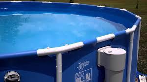 Intex 14 X 42 15x42 Summer Escapes Pool Unlevel Youtube