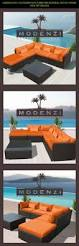 Orange Wicker Patio Furniture - best 25 orange furniture sets ideas on pinterest orange outdoor