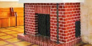How To Clean Fireplace Bricks With Vinegar by How To Clean Red Brick Fireplace Images Fireplace Painting Ideas