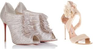 shoes for wedding dress wedding trends wedding shoes the magazine