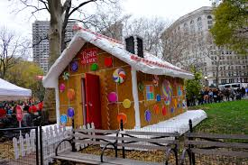 Square Home by Gingerbread House 1 Madison Square Park Conservancy