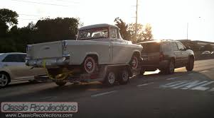 Classic Chevy Trucks 1956 - on the road 1956 chevrolet cameo carrier u2013 classic recollections