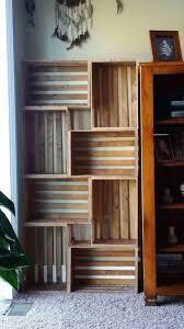 uncategorized cool staggered bookshelf bookcases modern