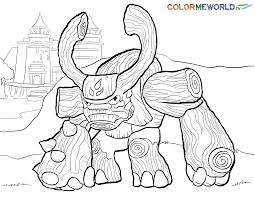 skylanders coloring pages the sun flower pages