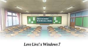 live themes windows 7 love live x windows 7 theme otonokizaka class by thewolfbunny on