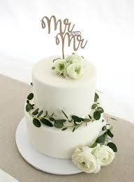 mr and mr cake topper mr and mr cake topper one happy leaf