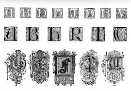 bibliodyssey ornamental typography revisited