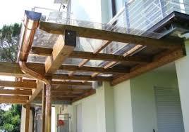 tettoie per porte esterne pensiline in vetro plexiglas e policarbonato adatte per scale con