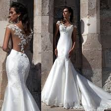 fitted wedding dresses discount fitted draped back wedding dresses 2017 fitted draped