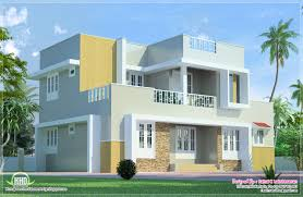 2 floor houses beautiful 2 floor villa elevation in 1400 sq kerala home