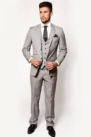 mens suit grey evening three suit marc darcy