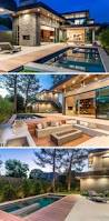 1404 best casas images on pinterest architecture modern houses in this backyard there s a swimming pool outdoor dining area kitchen and