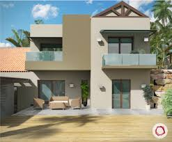indian house colour combination outside marvelous exterior for