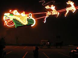 downtown santa reindeer lights picture of fort wayne indiana