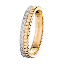 the story wedding band wedding band quatre lumière a maison boucheron jewelry creation