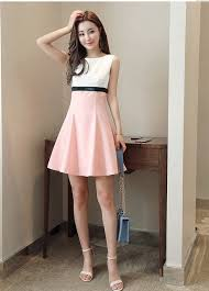 what to wear with a light pink dress girls casual summer fashion light pink dresses girls slim