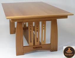 Arts And Crafts Dining Room Furniture Arts And Crafts Dining Room Table By Brian Brace Furniture