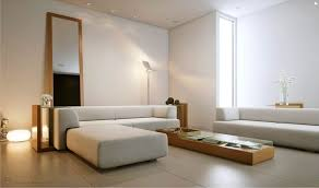 cozy minimalist living room white elegant windows design grey tile