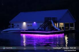 boat led strip lights dock lighting with led strip lights flexfire leds blog