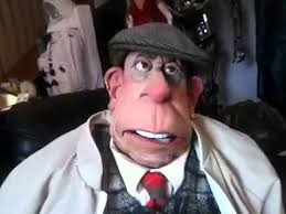 puppets for sale spitting image tv show puppet of victor meldrew for sale