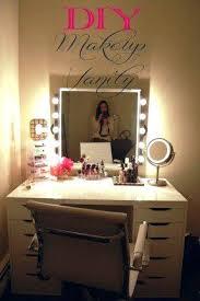 Portable Vanity Table Small Tabletop Makeup Mirror Bathroom Wonderful Stools For