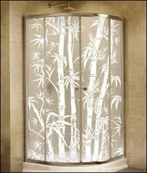Decorative Shower Doors Sandblasted Glass Shower Doors Shower Door Systems