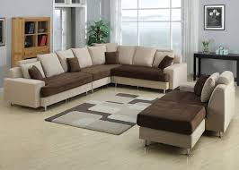 Living Room Sets Sectionals Ac Pacific J2020 5 Pieces Two Tone Living Room Set Sectional Sofa Set
