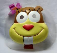 sandy cheeks halloween mask sponge bob square pants nickelodeon