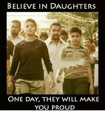 Memes About Daughters - believe in daughters one day they will make you proud meme on