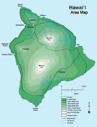 island on map virtually hawaii island maps