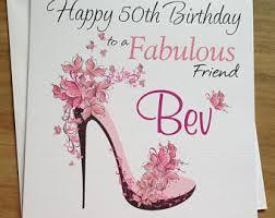40th birthday card friend etsy