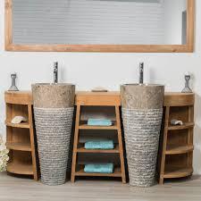 meuble de salle de bain original meuble sous vasque salle de bain en teck meubles salle de bain en