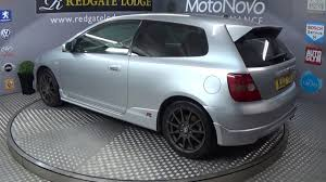 honda car service silver 03 honda civic type r youtube