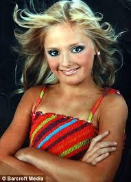 pretee models sasha bennington beauty queen who idolised katie price wins 1st