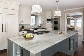 gray kitchen island white and gray countertops esteenoivas com