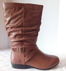 brown cognac womens boots size 7 7 1 2 8 8 1 2 9 9 1 2 10