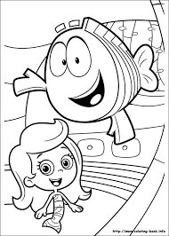 bubble guppies coloring pages coloring book